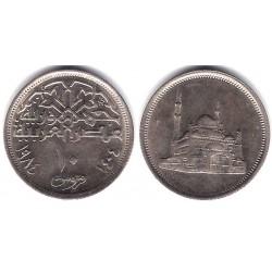 (556) Egipto. 1984. 10 Piastres (SC)