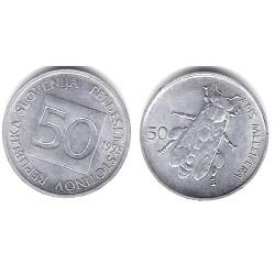 (3) Eslovenia. 1993. 50 Stotinov (SC)