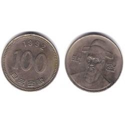 (35.2) Corea del Sur. 1992. 100 Won (MBC)