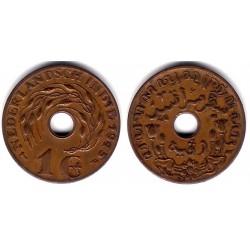 (317) Indias Holandesas. 1945. 1 Cent (EBC+)