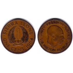 (17) Sierra Leona. 1964. 1 Cent (BC)