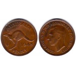 (36) Australia. 1948. 1 Penny (MBC)