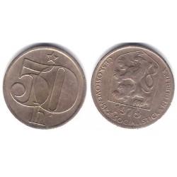 (89) Checoslovaquia. 1978. 50 Haleru (EBC)