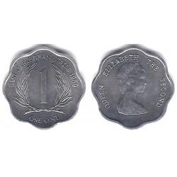 (10) Estados Orientales Caribeños. 1989. 1 Cent (SC)