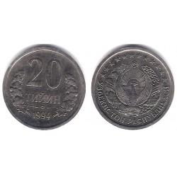 (5) Uzbekistan. 1994. 20 Tiyin (EBC)