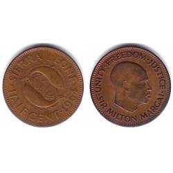 (16) Sierra Leona. 1964. ½ Cent (MBC)
