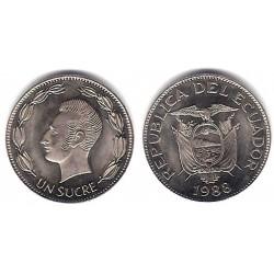(89) Equador. 1988. 1 Sucre (SC)