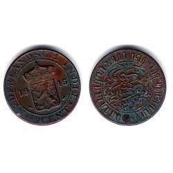 (314.2) Indias Holandesas. 1945. ½ Cent (BC)