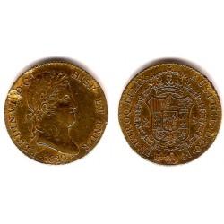 Fernando VII. 1820. 2 Escudos (MBC) (Oro) Ceca de Madrid GJ