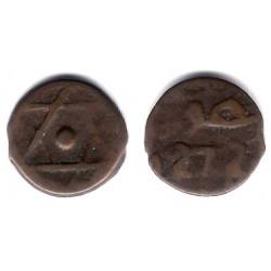 Marruecos. 1272H. 2 Falus (BC)