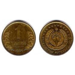 (1) Uzbekistán. 1994. 1 Tiyin (EBC)