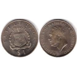 (7) Samoa. 1967. 1 Tala (SC)