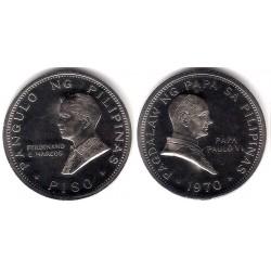 (202) Filipinas. 1970. 1 Piso (EBC)