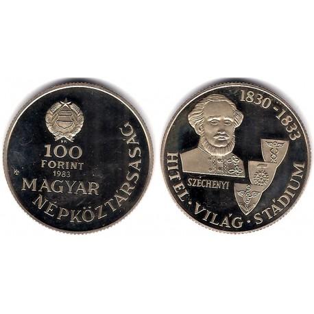 (633) Hungria. 1983. 100 Forint (SC)