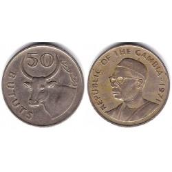 (12) Gambia. 1971. 50 Bututs (BC+)