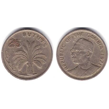 (11) Gambia. 1971. 25 Bututs (BC)