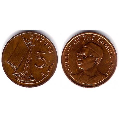 (9) Gambia. 1971. 5 Bututs (MBC+)