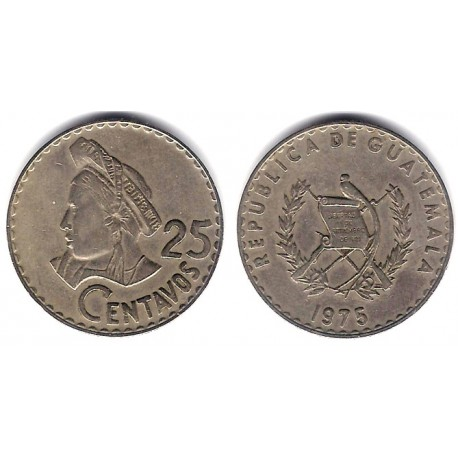 (272) Guatemala. 1975. 25 Centavos (MBC)