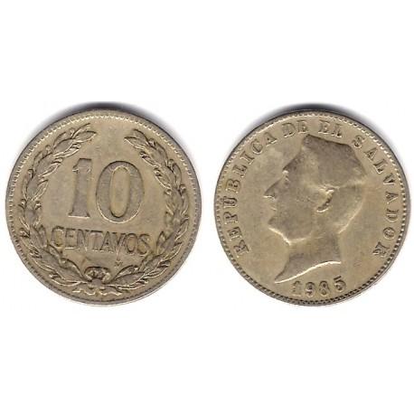 (130a) El Salvador. 1985. 10 Centavos (MBC)