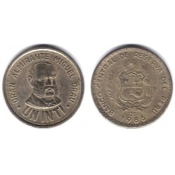 (296) Perú. 1986. 1 Inti (EBC)