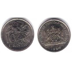 (31) Trinidad y Tobago. 1990. 10 Cents (SC)