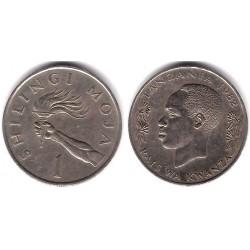(4) Tanzania. 1982. 1 Shilingi (EBC)