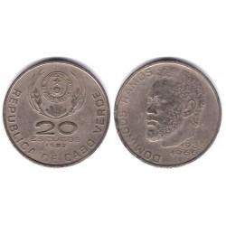 (20) Cabo Verde. 1982. 20 Escudos (MBC)