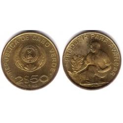 (18) Cabo Verde. 1982. 2 ½ Escudos (SC)