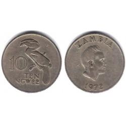(12) Zambia. 1972. 10 Ngwee (BC+)