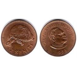 (28) Tonga. 1968. 2 Seniti (EBC)