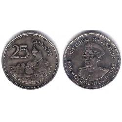 (20) Lesoto. 1985. 25 Lisente (SC)