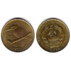(116) Mozambique. 1994. 5 Meticals (SC)
