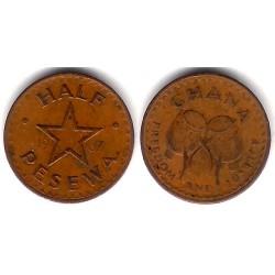 (12) Ghana. 1967. Half Pesewa (MBC-)