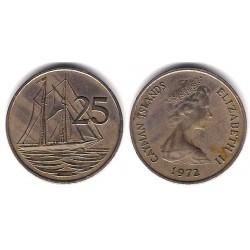 (4) Islas Caimán. 1972. 25 Cents (MBC)