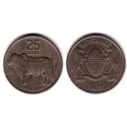 (6) Botswana. 1977. 25 Thebe (BC+)