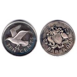 Barbados. 1973. 10 Cents (SC)