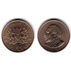 (4) Kenia. 1966. 50 Cents (SC)