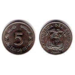 (75b) Ecuador. 1946. 5 Centavos (SC)