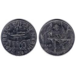 (82) San Marino. 1978. 100 Lira (SC)