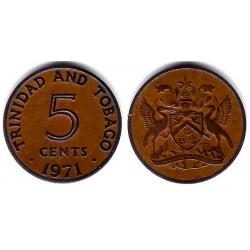 (2) Trinidad y Tobago. 1971. 5 Cents (MBC)