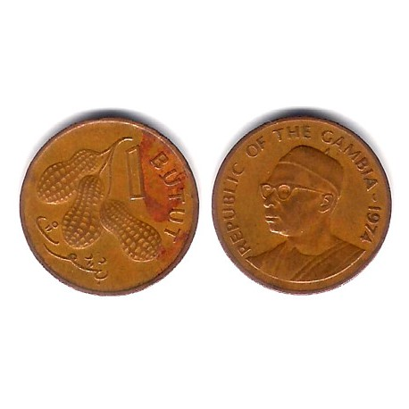 (8) Gambia. 1974. 1 Butut (BC)