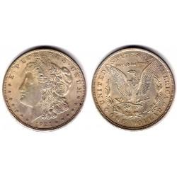 (110) Estados Unidos de América. 1921. 1 Dollar (SC-) (Plata)