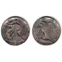 (142) Estados Unidos de América. 1942. Half Dollar (RC) (Plata)