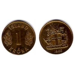 (12a) Islandia. 1966. 1 Krona (MBC)