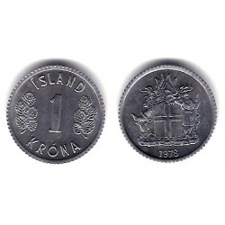 (23) Islania. 1978. 1 Krona (MBC)