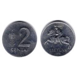 (86) Lituania. 1991. 2 Centai (SC)