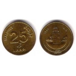 (71) Maldivas. 1984. 25 Laari (EBC+)