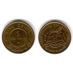 (6) Somalia. 1967. 5 Centesimi (MBC+)