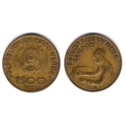 (17) Cabo Verde. 1977. 1 Escudo (MBC)