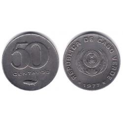 (16) Cabo Verde. 1977. 50 Centavos (EBC+)